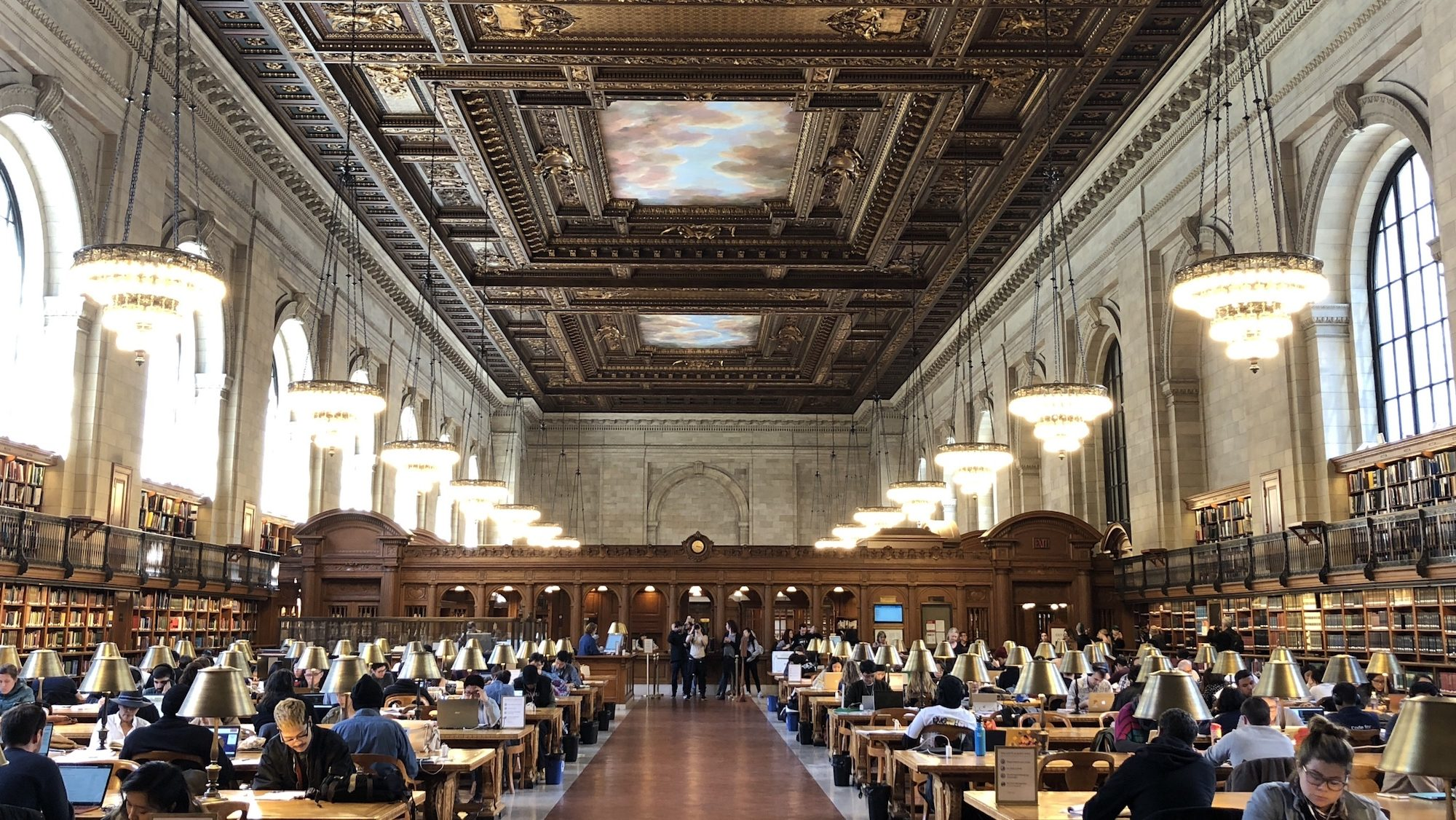 NYPL is a place to go to and learn from others