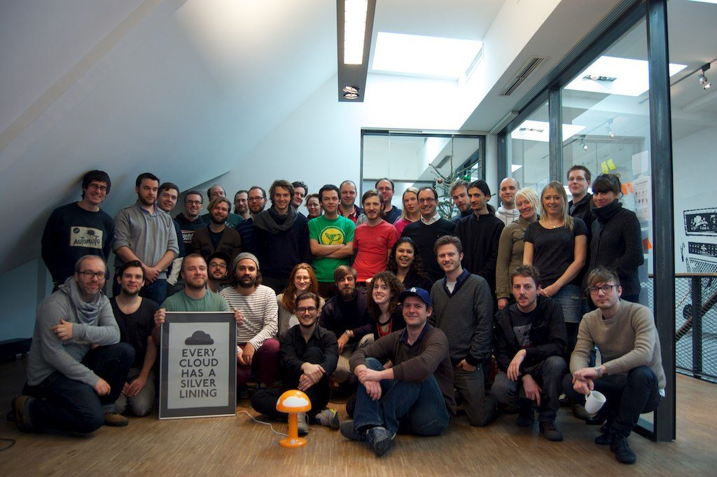The SoundCloud team in the Berlin office